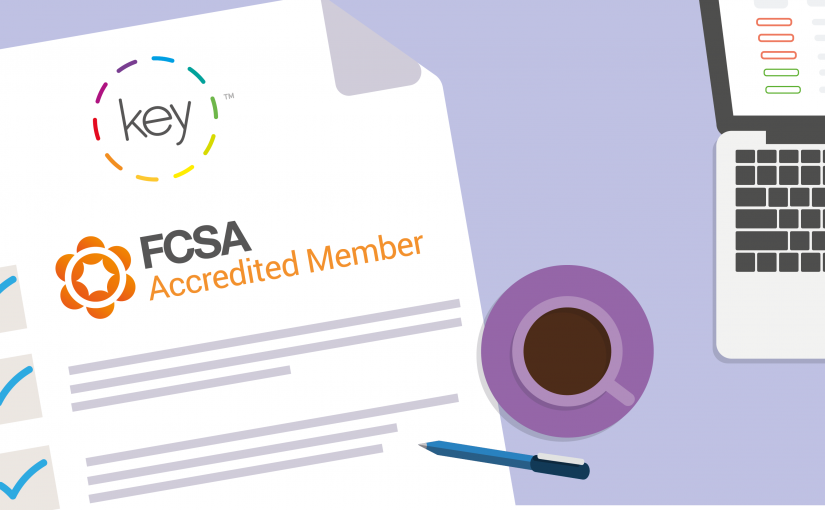 Key are accredited members of the FCSA